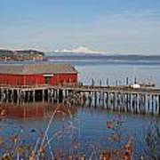 Coupeville Jetty Art Print