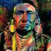 Courage Chief Joseph Art Print