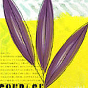 Courage Art Print by Linda Woods