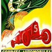 Courses Automobiles D Oran Art Print