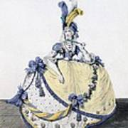 Court Dress, Fig. 106 From The Gallery Art Print