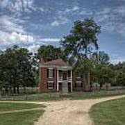 Courthouse At Appomattox Court House Art Print by Stephen Gray