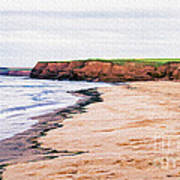 Cousins Shore Prince Edward Island Art Print by Edward Fielding