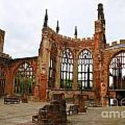 Coventry Cathedral 6003 Art Print