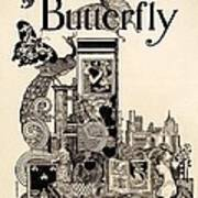 Cover Of The Butterfly Magazine Art Print
