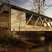 Covered Bridge Art Print