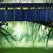 Covered Bridge In Kentucky Art Print