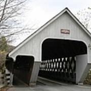 Covered Bridge - Woodstock Art Print