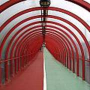 Covered Walkway 01 Art Print