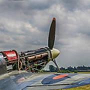 Covers Off Hawker Hurricane Art Print