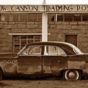 Cow Canyon Trading Post 1949 Art Print