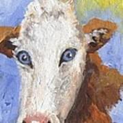 Cow Fantasy Three Art Print