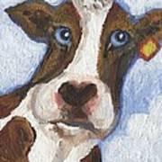 Cow Fantasy Two Art Print