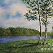 Cowan Lake Art Print