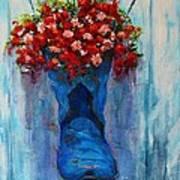 Cowboy Boot Unusual Pot Series  Print by Patricia Awapara