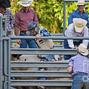 Cowboy Countdown Art Print