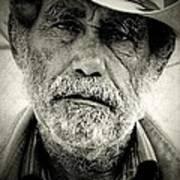 Cowboy Immokalee Fl Art Print