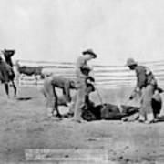 Cowboys, 1888 Art Print