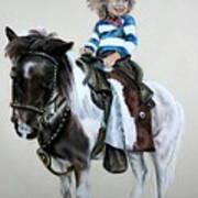 Cowgirl Dee Art Print