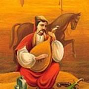 Cossack Mamay Art Print