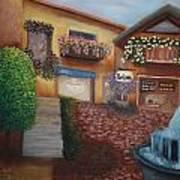 Cozy Courtyard Art Print