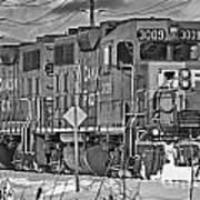 Cp Rail Train Bwtr9099-12 Art Print