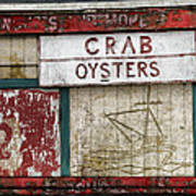 Crab And Oysters Art Print