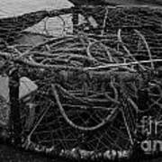 Crab Pot Art Print