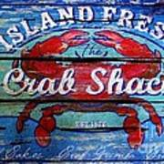 Crab Shack Art Print