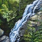 Crabtree Falls Art Print
