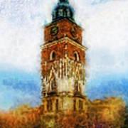 Cracov City Hall Art Print