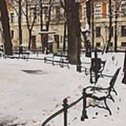 Cracow Park Art Print