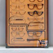 64c3074c1ec Craftsman Make Bespoke Spectacles For Global Export Art Print by Oli ...