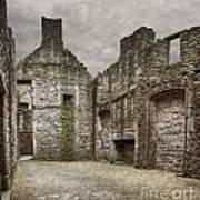 Craigmillar Castle Ruin Edinburgh Art Print