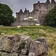 Craigmillar Castle Ruin Art Print