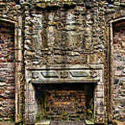 Craigsmillar Castle Fireplace Art Print