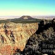 Crater At Grand Canyon Art Print