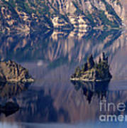 Crater Lake 2 Art Print