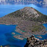 Crater Lake National Park Art Print