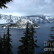 Crater Lake Oregon Art Print