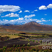 Craters Of The Moon Art Print by Robert Bales