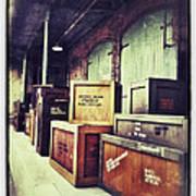 Crates And Crates Art Print