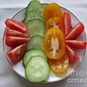 Craving For Fresh Vegetables Art Print