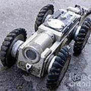 Crawler Pipeline Camera Art Print