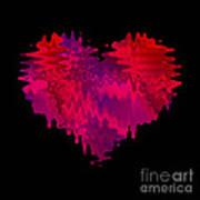 Crazy Love 2 Art Print