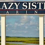 Crazy Sister Marina Art Print