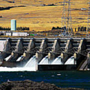 The Dalles Dam Art Print