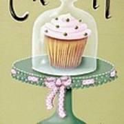 Creamy Cupcake Art Print