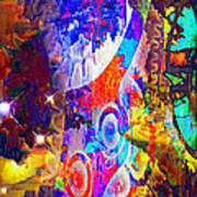Creation Of Stars Art Print