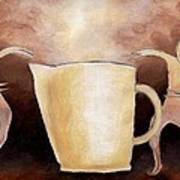 Creator Of The Coffee Art Print